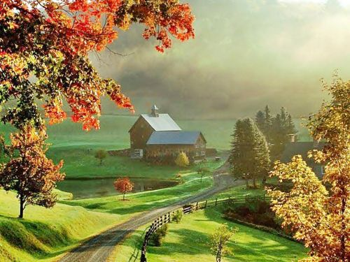 This Is Sleepy Hollow Farm In Vermont AS BP Entry
