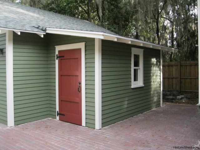 6x12 Shed Roof Workshop Attached To Garage In Floridaby