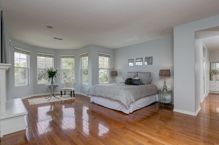 Grey White And Silver Master Bedroom Walls Are Dunn