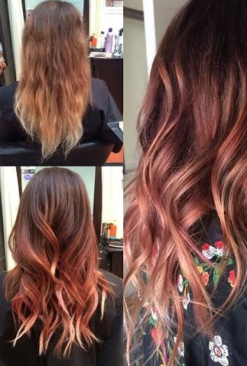 17 Best Ideas About Rose Gold Ombre On Pinterest Rose