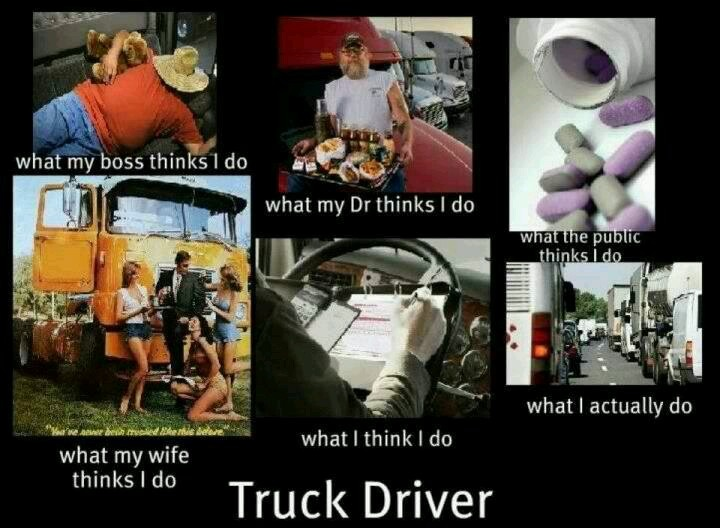 Truck Driver Truck Driver Humor Issues Pinterest