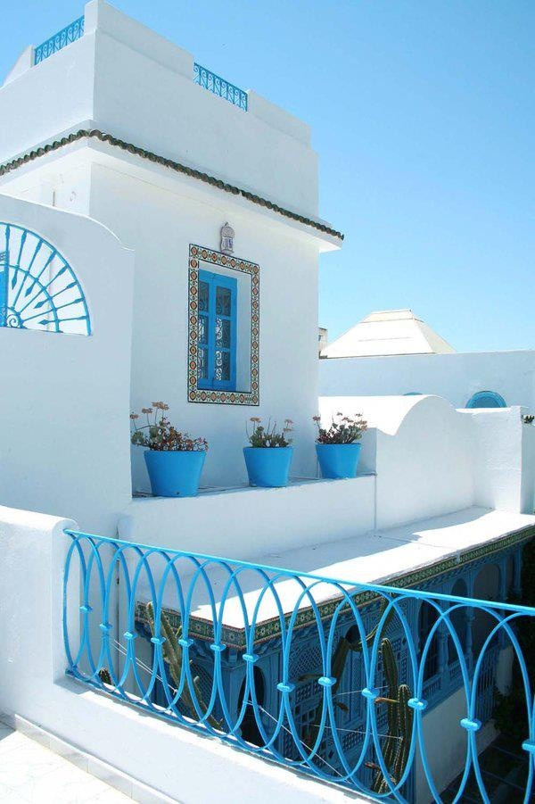 Tunisian House Style Housesinterior Design Pinterest