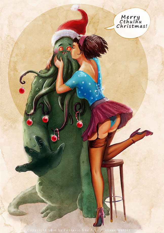 17 Best Images About Cthulhus Pin Up On Pinterest L
