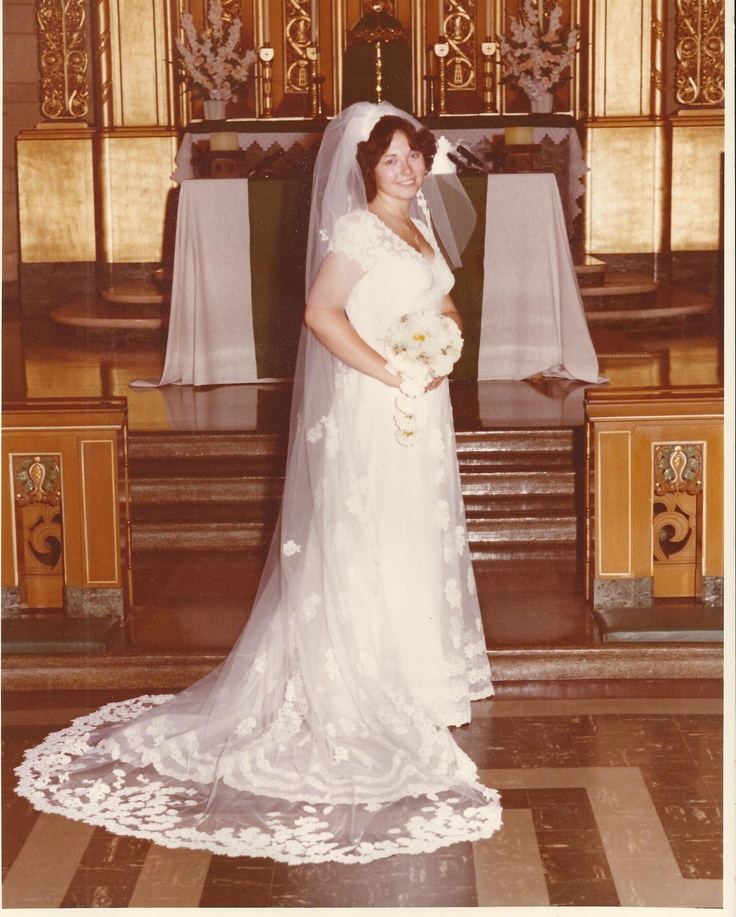 In 1976 My Wedding Dress Cost 3 Times My Monthly Salary