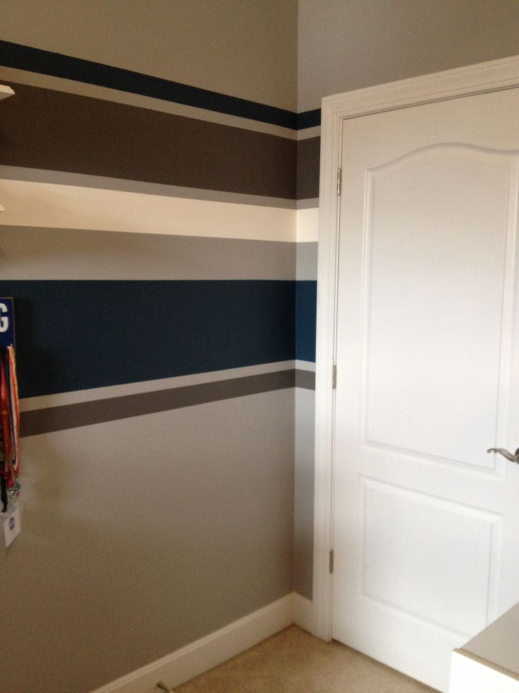 how to paint stripes on a wall without tape