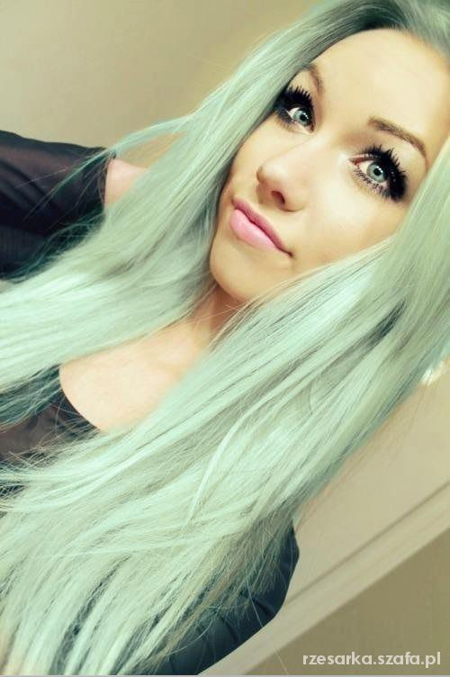 If i was naturally blonde i would do pastel colours i think it would be hard to