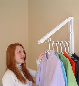 InstaHANGER Laundry Room Organizer in Hanger Valets