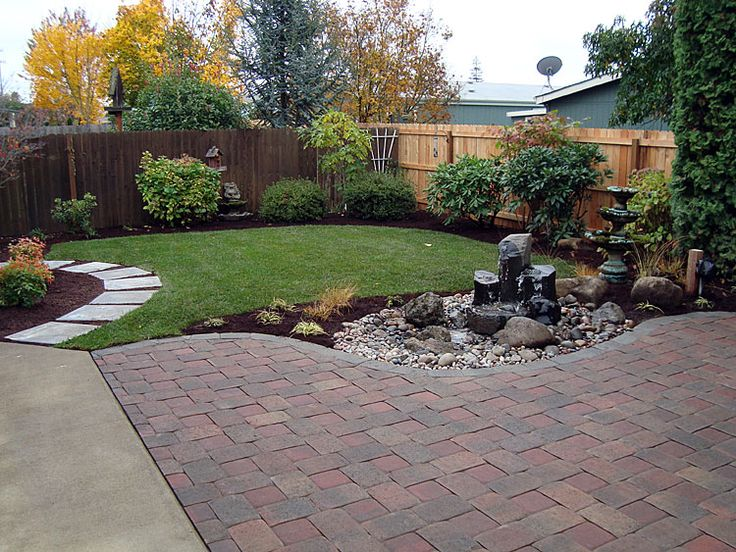 404 best FRONT YARD LANDSCAPING IDEAS images on Pinterest on Low Maintenance Backyard Design  id=74421