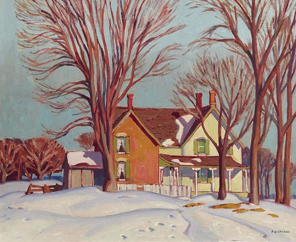 17 Best Images About Artist A J Casson Group Of Seven