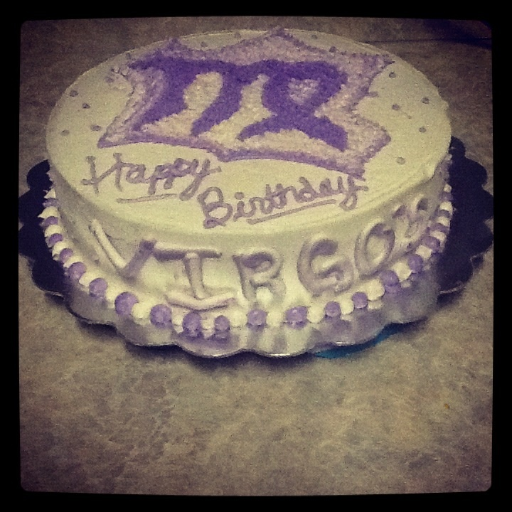 Virgo Birthday Cake My Creations Pinterest Cakes