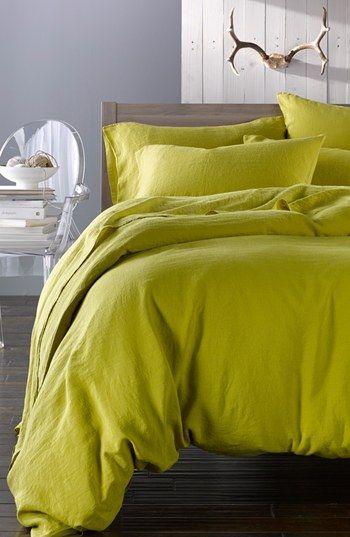 Merci Washed Linen Queen Size Duvet Cover Nordstrom