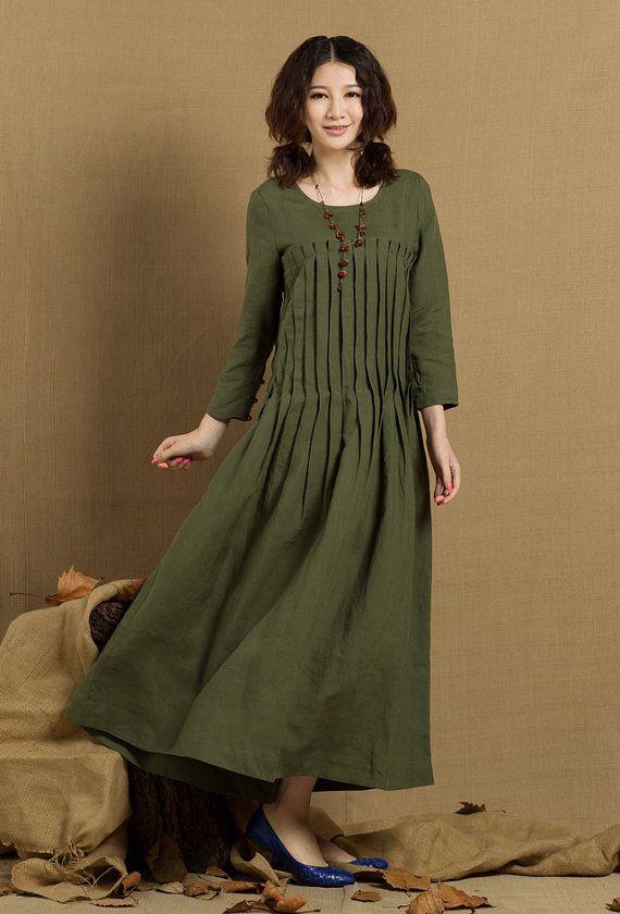 Linen dresses, Dress in and Linens on Pinterest