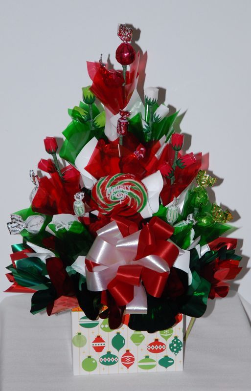 Christmas Bouquet Candy Bouquets Pinterest Bouquets