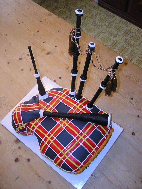 Bagpipe Cake Bagpipes Pinterest To Be Plaid And