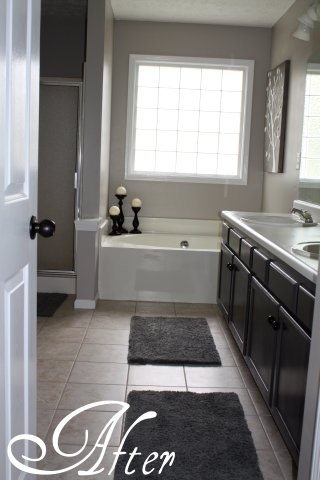 Master Bath After Behr Ultra Premium Plus Primer Walls
