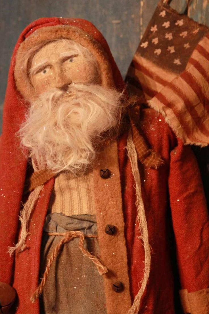 Arnetts Santa Primitive Christmas Matters