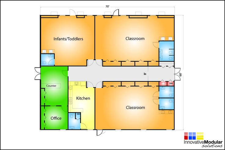Day Care Designs Floor Plans