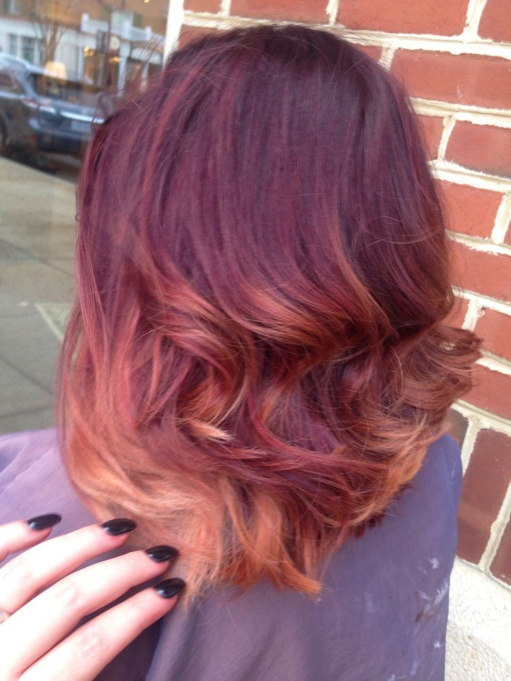 Long Bob Hair Ombre Sombre My Style Pinterest