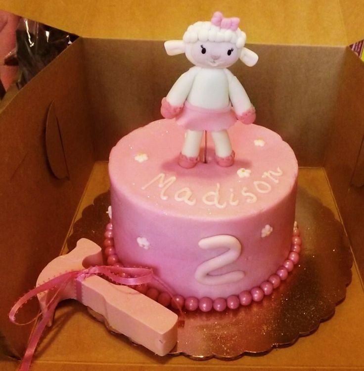Doc Mcstuffins Lambie Smash Cake My Enchantingly Sweet