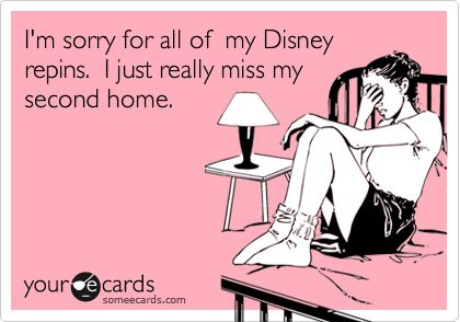 I'm sorry for all of my Disney repins. I just really miss my second home.