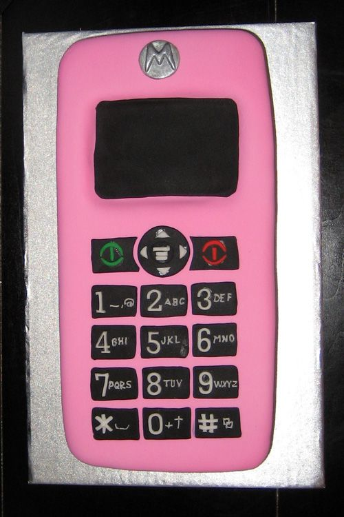 78 Images About Cell Phone Cakes On Pinterest Cool Cake