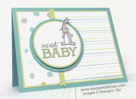 Baby We've Grown, Stampin' Up!, Brian King, FM176