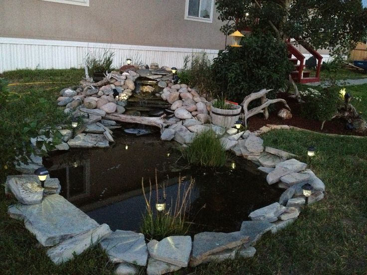 17 Best images about Fish Ponds on Pinterest   Boats, Pump ... on Front Yard Pond  id=64382