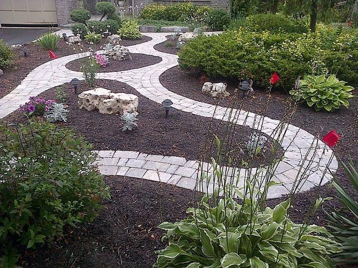 19 best Front yard no grass images on Pinterest on Backyard Ideas No Grass  id=98096