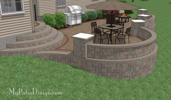 Building A Fence On A Sloped Yard - WoodWorking Projects ... on Unlevel Backyard Ideas id=60163