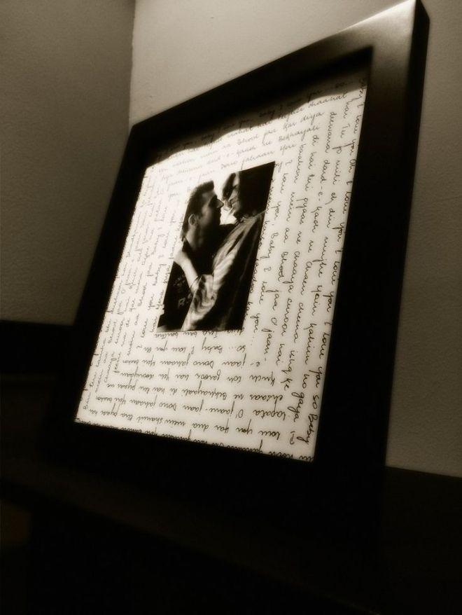 diy picture frame ideas for boyfriend