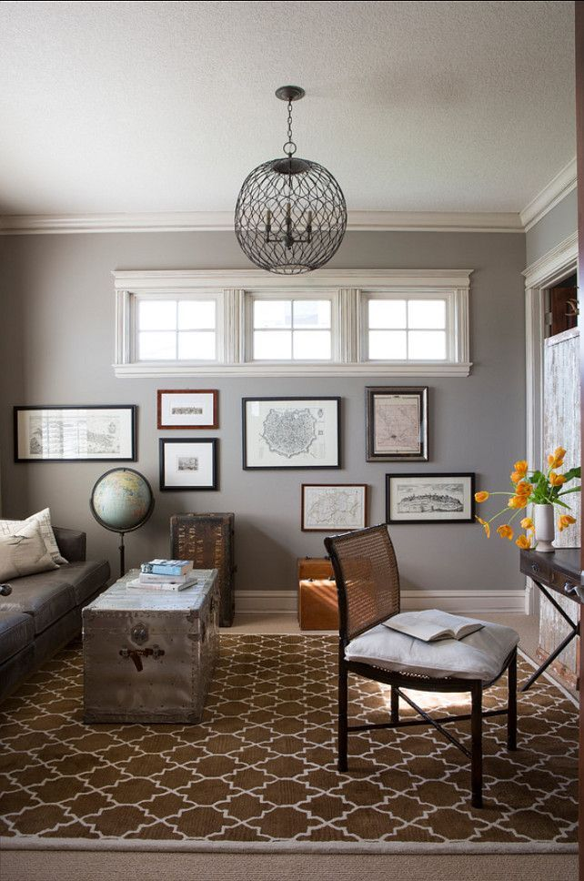 top 5 gray paint colors for selling your home bungalow on pinterest office colors id=42774