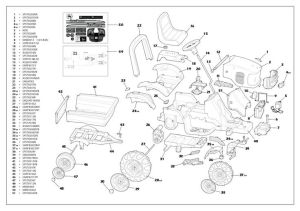 John Deere RX75 Parts Manual | parts schematic and parts list wiring diagram and electrical