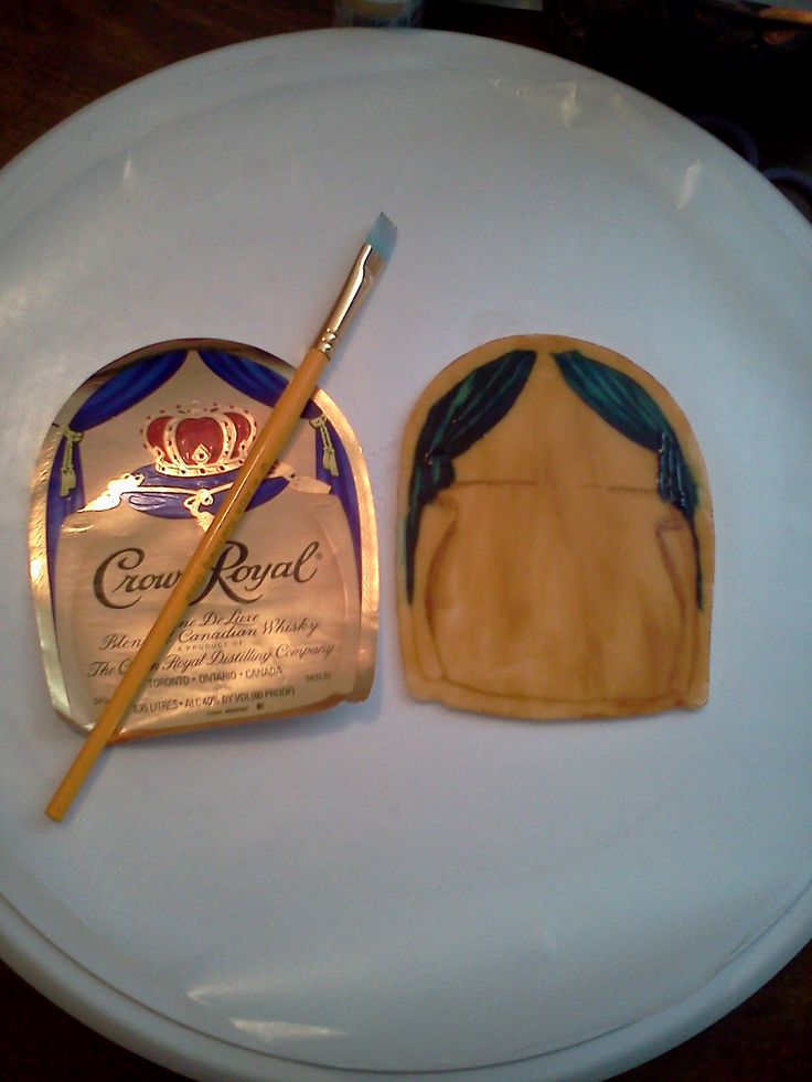 Crown Royal Bottle Template Google Search Cakes