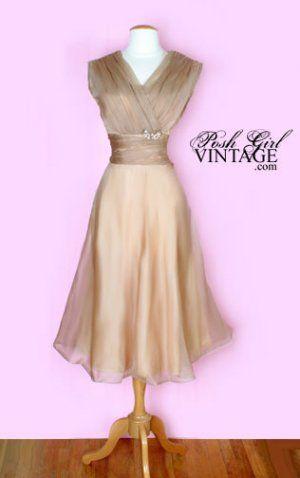 Love, love this 1950's dress!