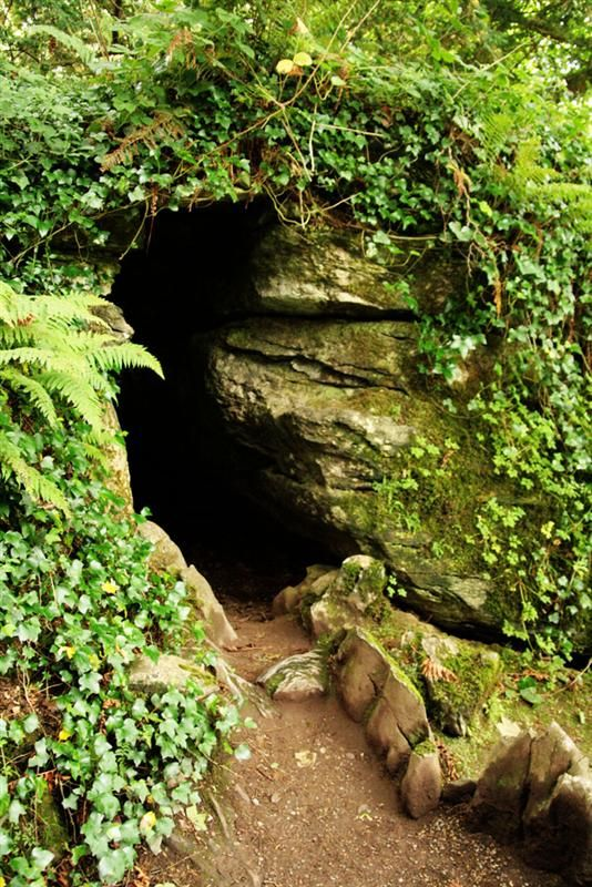 Druids Cave In The Rock Close At Blarney Castle Ireland Classroom Ideas Pinterest Caves