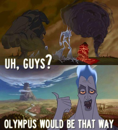 Hades! ahahaha  stupid