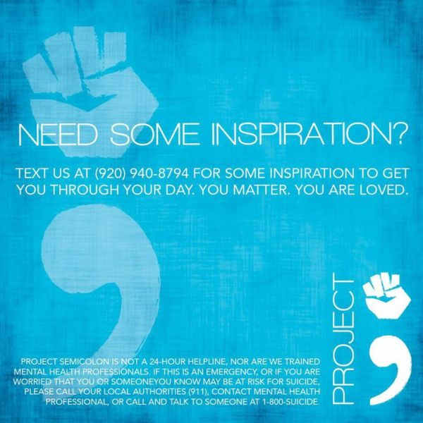 17 Best images about Project Semicolon on Pinterest | Make ...