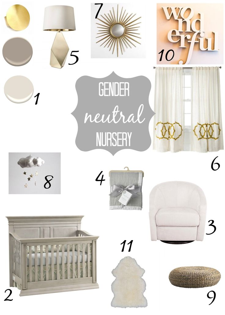 Grey, white and gold gender neutral nursery: Grey, white and gold gender neutral nursery