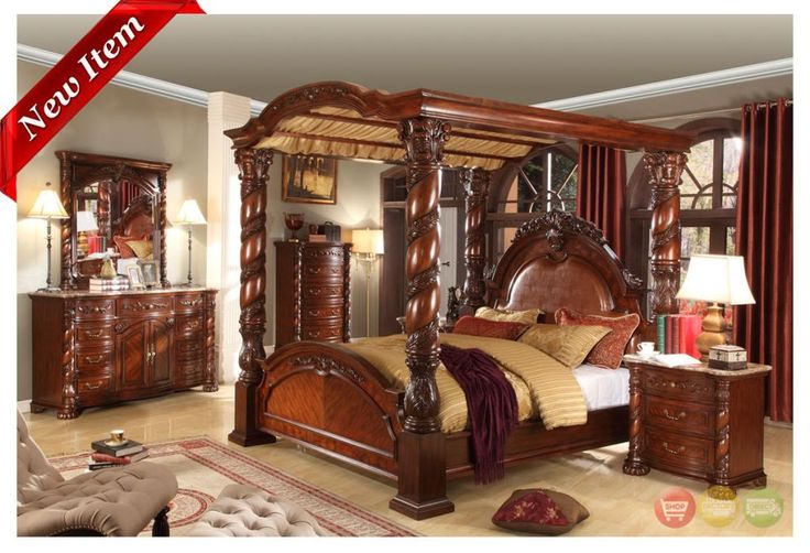 Sara tramp even when you've spent many hours decorating y. Castillo De Cullera Cherry Queen Size Canopy Bedroom Set