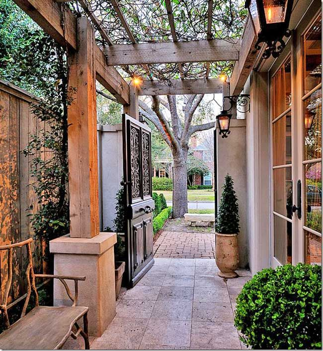 Top 25 ideas about Landscape Side Yards on Pinterest ... on Narrow Backyard Landscaping Ideas  id=20330