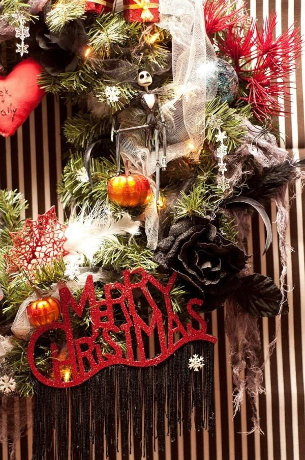Nightmare Before Christmas Wreath, $125.00, via Etsy. I ...