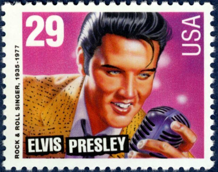Elvis presley usa postage stamp architecturalmailboxes