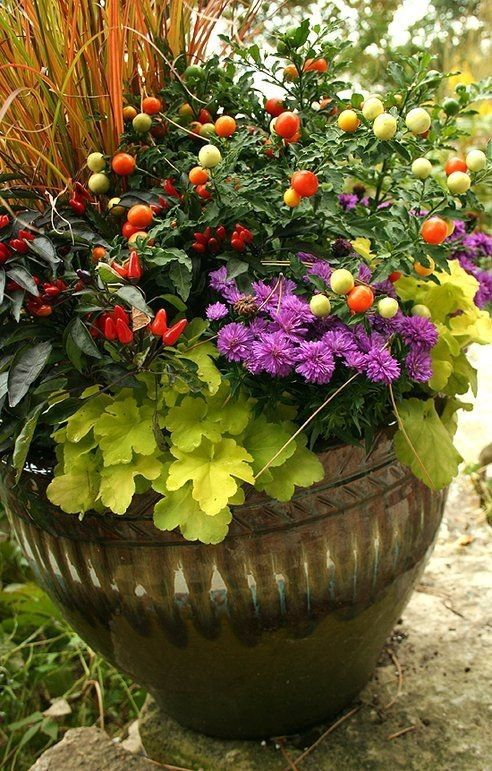 Large Flower Pot Arrangements