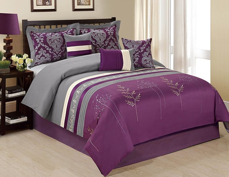 25+ Best Ideas About Grey Comforter Sets Queen On