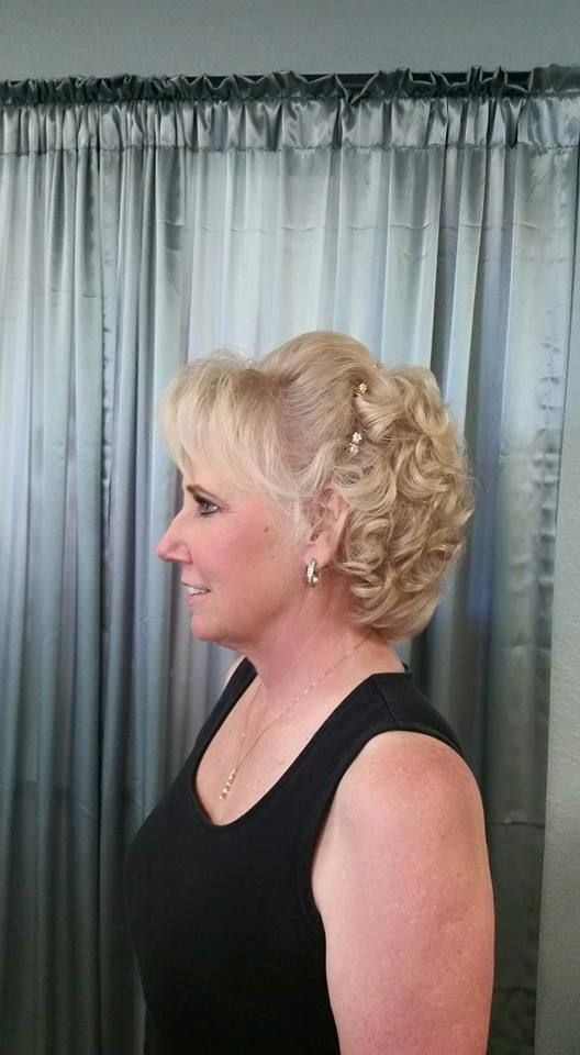 Mother Of The Bride Hair Style By Melony Terry Wedding