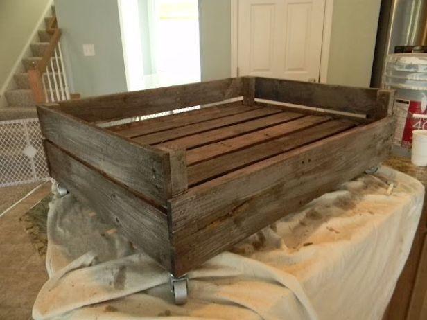Dog+Crate+Furniture+Bench