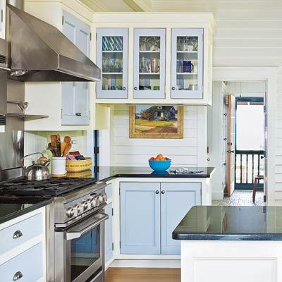 26 Low Cost High Style Kitchen Upgrades Two Tones Two