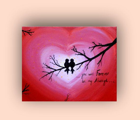 17 Best images about Valentine canvas on Pinterest | Heart ...