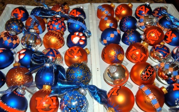 Auburn University Christmas ornaments | House Divided ...