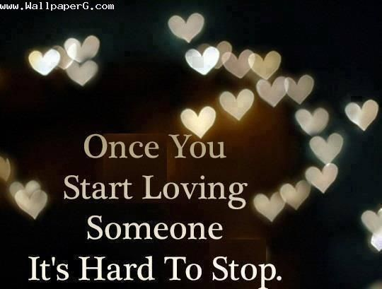 Download Its hard - Heart touching love quote for your ...